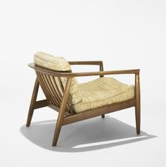Folke Ohlsson; Teak Lounge Chair for Dux, c1955.