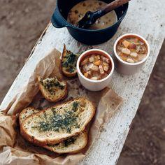 Garlic Bread Recipe - Laurence Jossel   Food & Wine