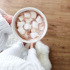 Hot cocoa for the #FirstDayOfFall.