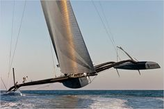 BMW Oracle USA-17 trimaran