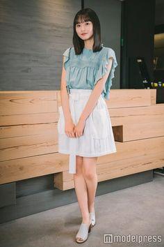 Asian Woman, Asian Girl, Lace Skirt, Midi Skirt, Asian Beauty, Cute Girls, Going Out, High Waisted Skirt, Tulle