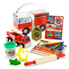 party favours http://www.birthdayexpress.com/Fire-Trucks-Party-Favor-Box/42454/PartyKitDetail.aspx