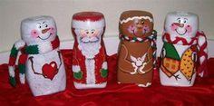 Reutiliza y embellece losfrascos de Nescafé de forma fácil y sencilla; dichos frascos puedes convertirlos en originales especieros, en prácticos organizadores o adornos para el hogar, lucen tan lindos que no sólo nos servirán como decoración, sino que podemos utilizarlos para guardar cosas en su interior.Un poco depinturapor aquí, unos recortes por allá, y podemos … Snowman Christmas Ornaments, Christmas Jars, Christmas Deco, Christmas Crafts, Recycled Crafts, Diy And Crafts, Arts And Crafts, Coffee Jar Crafts, Decoupage Jars