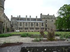 Back of Falkland Palace from gardens