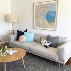 You can always rely on Eadie  to bring colour and life to a room! The team at KMode Real Estate Stylists definitely know how to create an amazing space 💙 Eadie  www.eadielifestyle.com.au