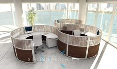 Modular Office Furniture - Workstations, cubicles, systems, modern, contemporary: