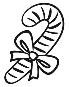 a lot of candy coloring pages   Candy Cane Coloring Page   Christmas Coloring Free!! they ...