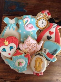 In honor of the new Alice in Wonderland movie, Alice Through the Looking Glass, we were inspired to put together some of our favorite cookies that celebrate this Disney wonder. With every characte...