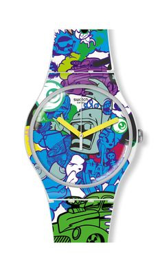 WALL PAINT | Swatch *Watch