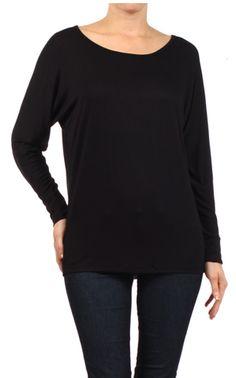 2ab9831332d8e0 Mystree Dolman Sleeve Knit Top - Ravishing   Rugged