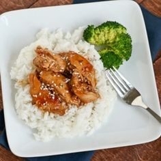 Honey Sesame Chicken made in the Slow-Cooker... uses pantry staples!  Made this and everyone loved it.  So easy.