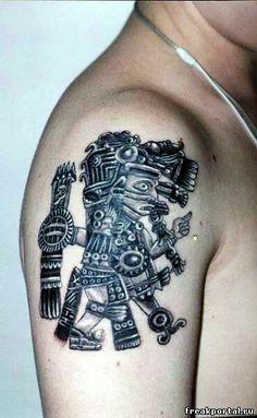 Tezcatlipoca Tattoo