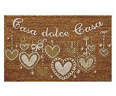 Zerbino in cocco Casa Dolce Casa bianco e naturale - 75x45x2 cm Dolce, Home Decor, Houses, Decoration Home, Room Decor, Home Interior Design, Home Decoration, Interior Design