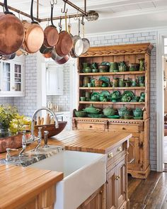An Century Seaside Cottage Saved from the Wrecking Ball - The Glam Pad - cottage kitchens Small Kitchen, Kitchen Room, Kitchen Remodel, Kitchen Decor, Modern Kitchen, Cottage Kitchen Design, Cottage Kitchen, Cottage Kitchens, Seaside Cottage