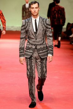 Dolce Gabbana | Spring 2015 Menswear Collection | Style.com