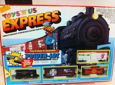 Vintage Toys R' US Express HO Train Set w Geoffrey Giraffe Car New in Box RARE | eBay Kids R Us, Toys R Us Kids, Baby Kids, Ho Trains, Model Trains, Retro Toys, Vintage Toys, Ho Train Sets, 1990s Toys