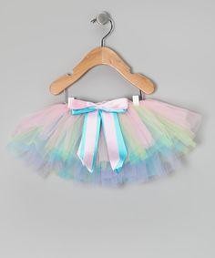 Baby Clothes: Pastel Rainbow Baby Girl Tutu