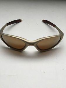 7ba67ea3f4 Oakley Minute 1.0 Platinum Gold Iridium Sunglasses