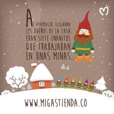 #Migas #FábricadeSueños #BlancaNieves #FragmentoIlustrado #FelizJueves
