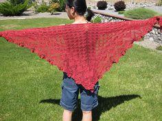 Aeolian shawl