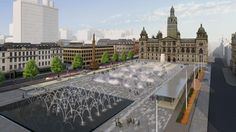 Public gives its views on designs for new look George Square