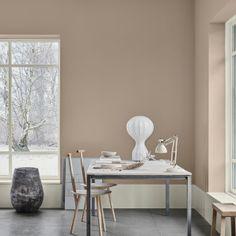 The scandinavian interior colour trends of 2019 from jotun lady Gold Interior, Interior Paint, Interior Design, Dark Interiors, Colorful Interiors, Inspiration Wall, Interior Inspiration, Jotun Lady, Pine Design