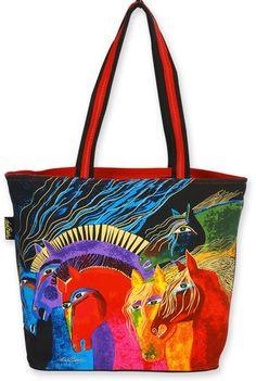 laurel burch embracing horses fabric   10% off Laurel Burch Bags Love Horses Wind Spirit, Embracing Horses ...