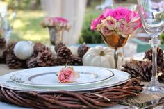 FRENCH COUNTRY COTTAGE: Simple Centerpiece