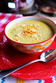 Broccoli Cheddar Soup- Pioneer Woman- http://thepioneerwoman.com/cooking/slow-cooker-broccoli-cheese-soup