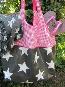 lillesol & pelle Schnittmuster/ pattern: Strandtasche Sunshine Coast