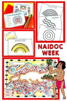 Australian Aboriginal and Torres Strait Islander Bundle NAIDOC - Real Time - Diet, Exercise, Fitness, Finance You for Healthy articles ideas Aboriginal Symbols, Aboriginal Education, Aboriginal Art, Naidoc Week Activities, Fun Activities, National Sorry Day, Symbols And Meanings, Anzac Day, Art Lessons