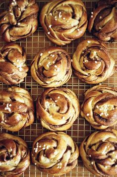 Spelt Cinnamon and Cardamom Buns — Apt. Baking Co. Spelt Cinnamon and Cardamom Buns — Apt. Baking Co. Brunch Recipes, Breakfast Recipes, Dessert Recipes, Dinner Recipes, Desserts, Bread Recipes, Croissants, Homemade Yeast Rolls, Muffins