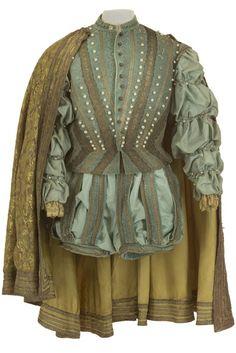 Costume pour Les Contes d'Hoffmann d'Offenbach, costumes d'Yvon Henry, 1965