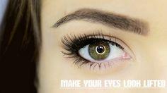 How To Lift Your Eye Shape #beauty #makeup #tutorial #video #WomanToWomanDIY