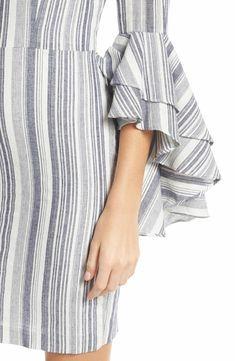 Dress Designer Ruffles 21 Ideas For 2019 Kurti Sleeves Design, Sleeves Designs For Dresses, Sleeve Designs, Blouse Designs, Dresses With Sleeves, Full Sleeves, Designer Kurtis, Designer Dresses, Diwali Dresses