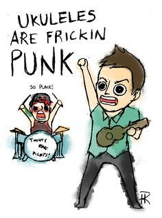 FRICKIN PUNK by notbadrae on DeviantArt>>I love Josh in the background XD