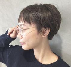 人とかぶりたくない人必見!髪型をベリーショートにして魅力アップ♡ 高橋 忍