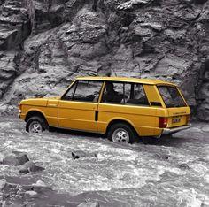 Tip toeing legendary Range Rover
