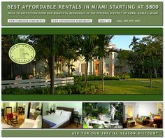 Our Aprtment have Many Features like Furnished & Unfurnished Which gives you better Accomodation. For more Information log on to :- http://rentals-in-miami.com/