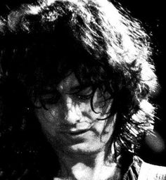 Jimmy Page so much emotion on his face!