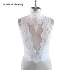 Find More Wedding Jackets / Wrap Information about White Elegant High Collar Lace Wedding Boleros Women 2018 with Buttons Ivory Bridal Jackets Wraps Accessories jaqueta feminina,High Quality Wedding Jackets / Wrap from modest saying Lacebridal Store on Aliexpress.com
