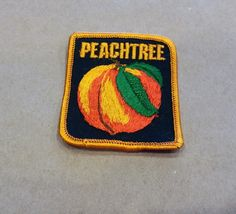 Friends, a shiny item is here ✨ 1970s Vintage Peachtree Patch / Georgia / State / City / Souvenir / South / East  https://www.etsy.com/listing/502203792/1970s-vintage-peachtree-patch-georgia?utm_campaign=crowdfire&utm_content=crowdfire&utm_medium=social&utm_source=pinterest