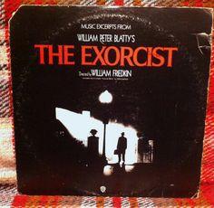 The Exorcist Movie Soundtrack LP Vinyl Record by chezToulouse