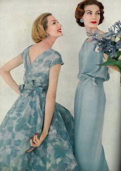Vogue April 1957 | by Dovima-2010