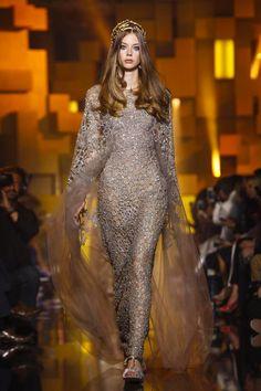 Lauren voor Elie Saab haute couture fall/ winter 2015 Paris