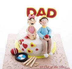 Cake for a loving Dad