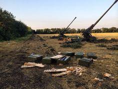 Российские артиллерийские расчеты, укомплектованные солдатами срочной службы, которые летом 2014 обстреливали территорию Украины с приграничной Ростовской области https://tjournal.ru/p/shelled-ukraine