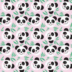 happy pandas print and pattern