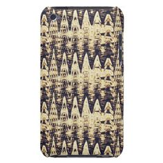 Abstract Metal Image Brown iPod Touch Case - metal style gift ideas unique diy personalize