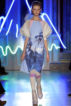Tsumori Chisato Fall 2012 Ready-to-Wear Collection Slideshow on Style.com